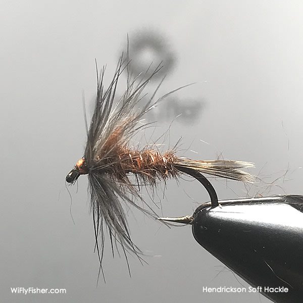 Hendrickson soft hackle pattern