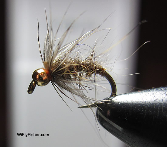 hares ear nymph pattern
