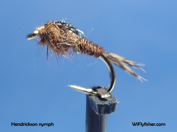 Hendrickson nymph pattern