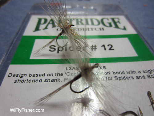 Variant dry flies
