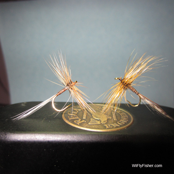Variant dry fly patterns